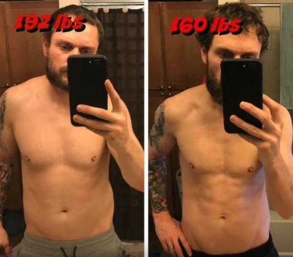 美國一名YouTuber在100天裡,每天只吃2000卡路里的冰淇淋,最後瘦了32磅(約14.5公斤)。(圖擷自YouTube)