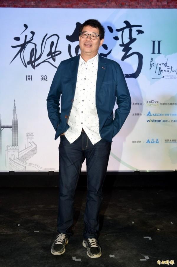 導演齊柏林昨天拍攝《看見台灣Ⅱ》空拍作業時,不幸失事罹難身故。(台灣阿布電影公司提供)