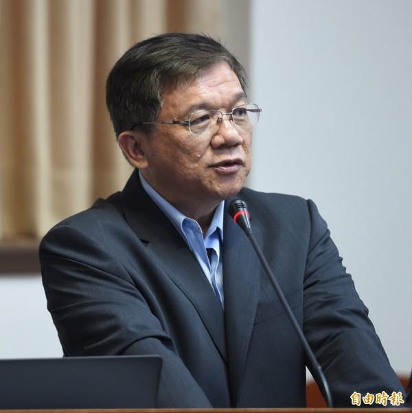 經濟部長李世光表示,亞泥延展案查無不法。(資料圖 記者劉信德攝)