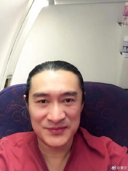台灣面臨外交困境,黃安在微博強調自己「就是支持統一,反對台獨反到底」。(圖擷取自黃安微博)