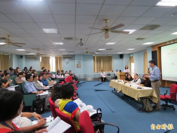 台中市社會局推心智障礙者社區居住,目前已有15處,未來計畫1年成立1處。(記者蘇金鳳攝)