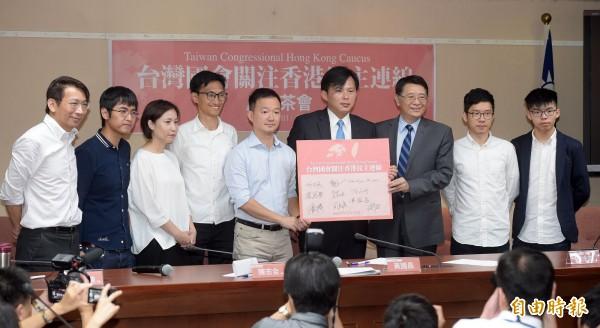 時代力量發起「台灣國會關注香港民主連線」,香港建制派議員批評是「台港獨合流」。(資料照,記者黃耀徵攝)