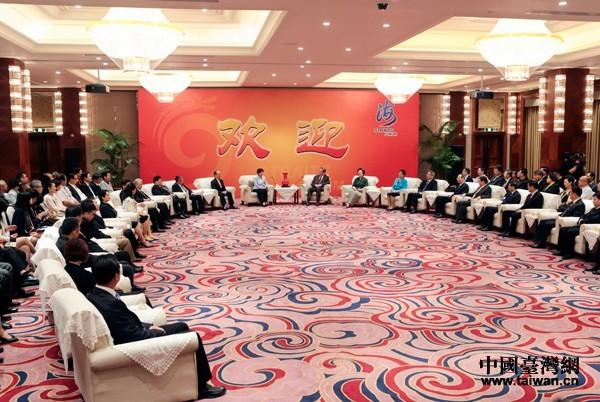 中共當局在海峽論壇刻意宣傳「經濟社會融合」、「惠台便利」等措施。(圖擷自海峽論壇官網)