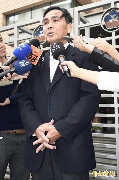 內政部民政司長林清淇。(資料照,記者陳志曲攝)