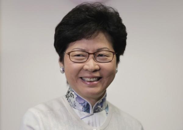 林鄭月娥指出,「港獨」在香港完全沒有出路,不能讓「港獨」在香港傳播。(美聯社)