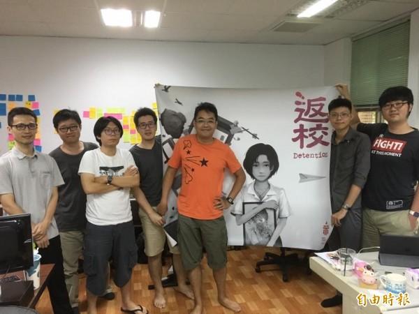 由台灣遊戲團隊赤燭製作,以戒嚴時代的政治氛圍與台灣宗教祭儀為主題的恐怖遊戲《返校》,即將躍上大螢幕!(記者吳柏緯攝)