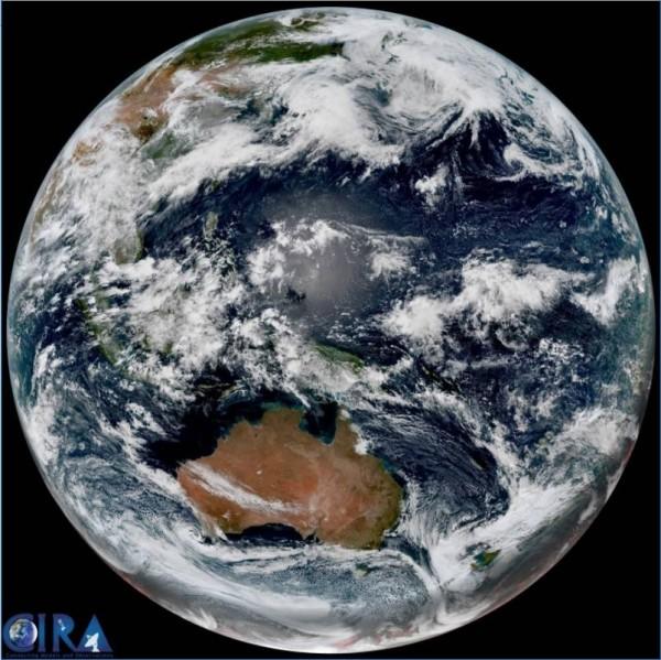 鄭明典今天在臉書分享一張「夏至衛星影像」!(圖擷取自鄭明典臉書)