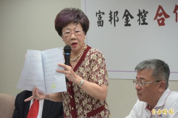 對於外交困境,呂秀蓮認為台灣最大錯誤就是「漢賊不兩立」的政策。(資料照,記者張嘉明攝)