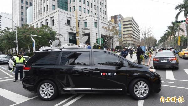 為討Uber欠稅罰鍰,法務部行政執行署台北分署向國內信用卡銀行核發執行命令,直接扣押Uber向消費者收取款項。(資料照,記者方賓照攝)