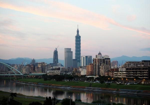 台北101。(歐新社)