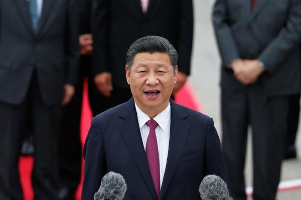 中國國家領導人習近平今日赴港訪問。(路透)