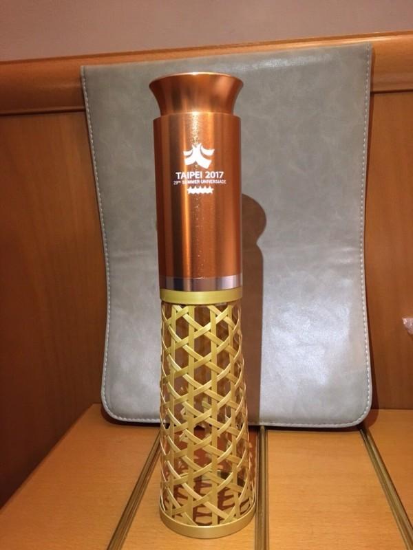 世大運編織竹製擺飾燈(圖:北市府提供)