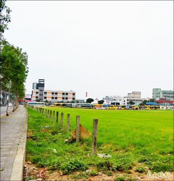 市府將在新高里「文小六」預定地興建新小學。(記者陳建志攝)