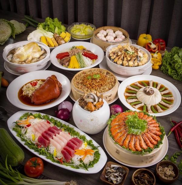 海霸王的懷念料理桌菜「呷未了」。(台灣觀光協會提供)