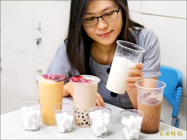 冰奶茶示意圖。(資料照,記者吳亮儀攝)