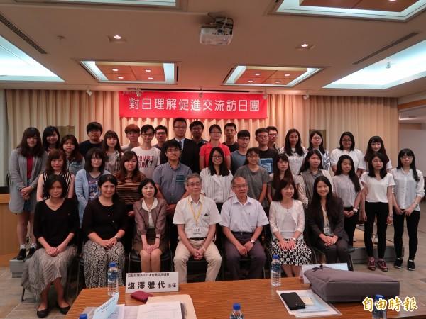 日本政府辦理對日理解促進交流計畫(JENESYS 2017),今天舉辦行前說明會。(記者呂伊萱攝)