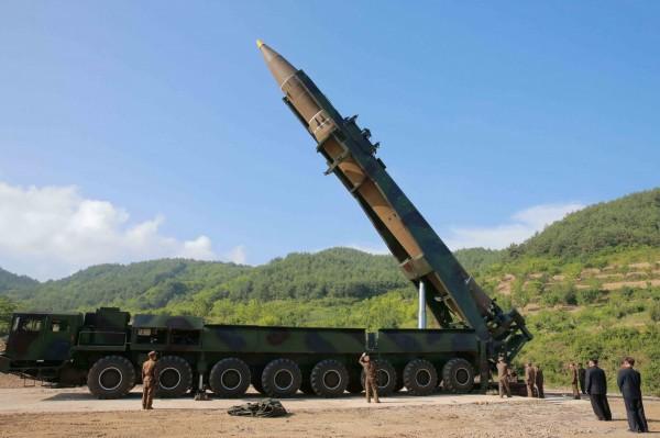 北韓4日成功試射洲際導彈「火星-14型」,震驚國際社會。(路透)