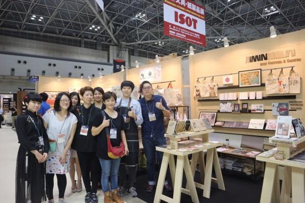 台南藍晒圖文創園區各家文創品牌也加入今年ISOT大展。(南市文化局提供)