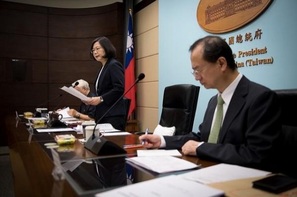 總統府今天舉辦「司法改革國是會議籌備委員會」第6次籌備委員會。(總統府提供)