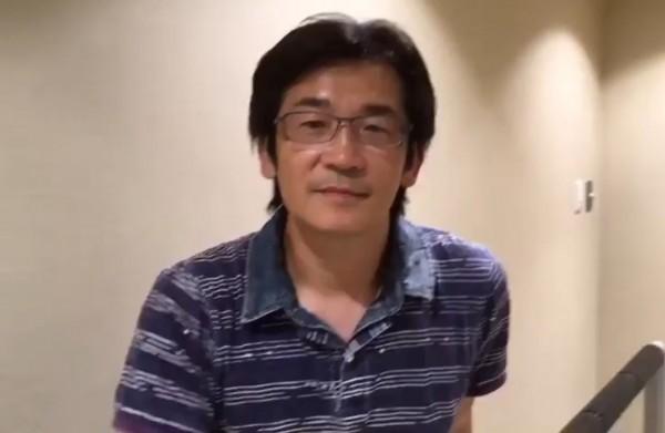 導演魏德聖看完邵鳳蘭的新書後特別錄製一段影片為她加油打氣。(記者佟振國翻攝)