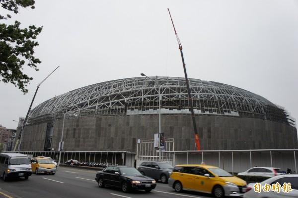 台北市長柯文哲傳放話處理大巨蛋(圖)最後期限訂在明年。 (資料照,記者黃建豪攝)