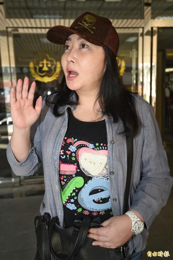 日籍富家女Yuki(蔭山友紀)被控4年前起,在網路貼文詆毀藝人蕭敬騰及他的經紀人,二審判Yuki須各賠償50萬元及30萬元,並登報道歉。(資料照,記者朱沛雄攝)