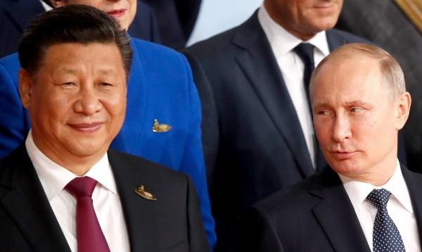 外媒指出,俄羅斯總統普廷得到了中共菁英才能享受到免受公共批評的待遇,自上週起,普廷被中國列為不得在網路公開批評的人物。(歐新社)