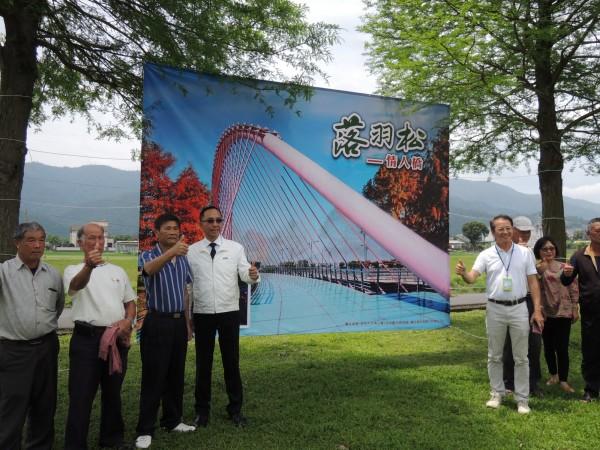 三星鄉公所原定在安農溪打造落羽松情人橋,但遭民眾反彈並組成「守護安農溪」團體捍衛自然景觀。(資料照,記者江志雄攝)