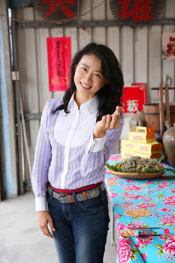 議員宋麗華愛吃客家美食,也有不少私房愛店。(記者潘自強攝)