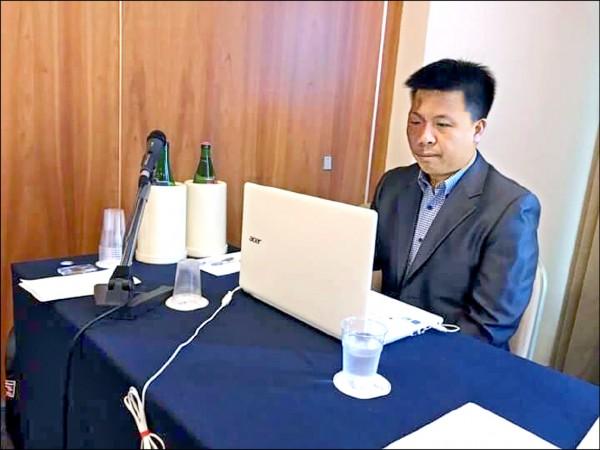 交大資工系教授吳毅成的研究團隊研發的CGI程式,在義大利國際IEEE FUZZ會議的人機圍棋賽中,與紅面棋王周俊勳對弈兩場都贏,讓人驚豔。 (交大提供)
