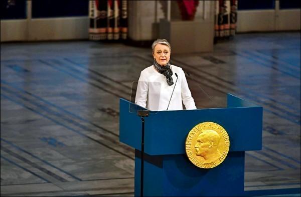 諾貝爾和平獎委員會主席安德森。(資料照,法新社)
