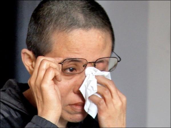中國諾貝爾和平獎得主劉曉波遺孀劉霞。(資料照)