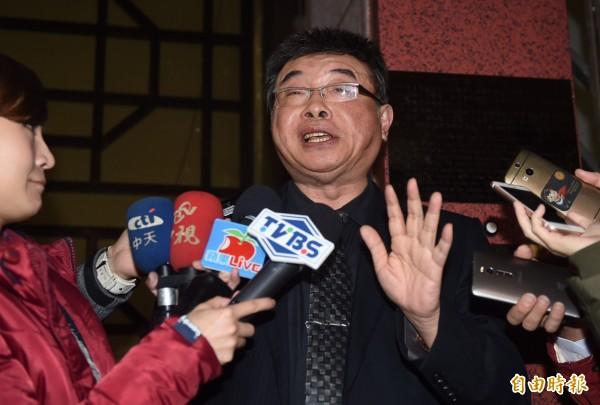 邱毅對立委邱議瑩遭暴力相對的事件,表達了個人的觀點。(資料照,記者簡榮豐攝)