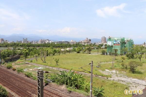 竹林都市計畫將設置示範區。(記者林敬倫攝)