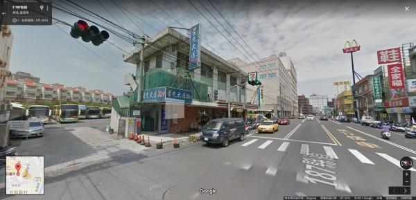 東港轉運站現址。(擷自google地圖)