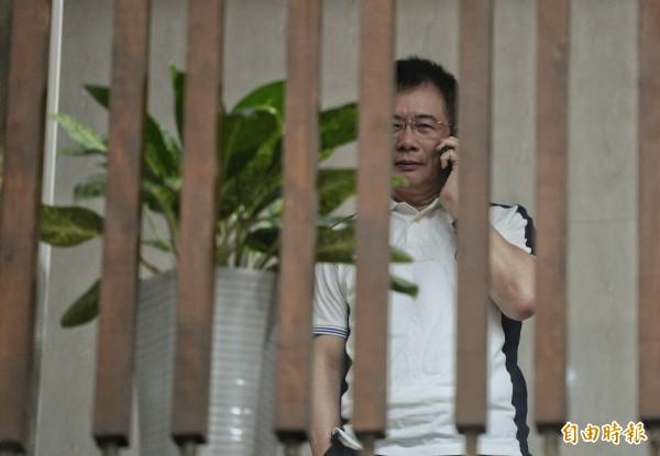 國民黨前政策會執行長蔡正元涉侵占中影資產3.7億,今晚被裁定羈押禁見。(資料照,記者林正堃攝)