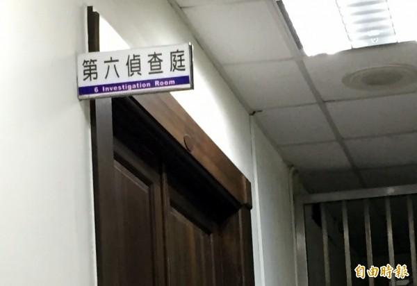 高市官員被指控打電話給廠商要求「表示一下」,涉暗示索賄35萬元被起訴。(記者黃良傑攝)