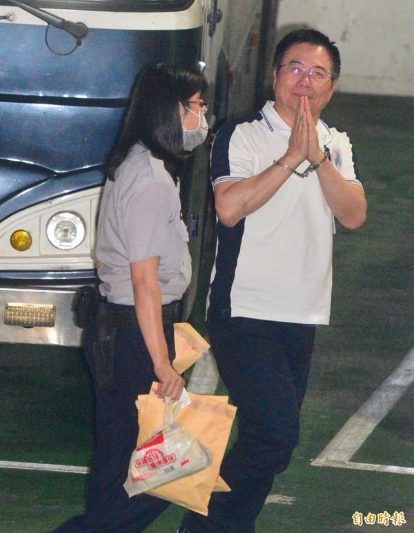國民黨前政策會執行長蔡正元涉侵占中影資產3.7億,台北地方法院裁定羈押禁見。 (資料照,記者王藝菘攝)