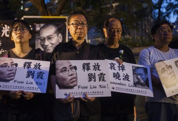 美國紐約大學中國法律與人權專家孔傑榮認為,當局不願釋放劉霞,是擔心她成為海內外異議人士的新領袖象徵。(歐新社)