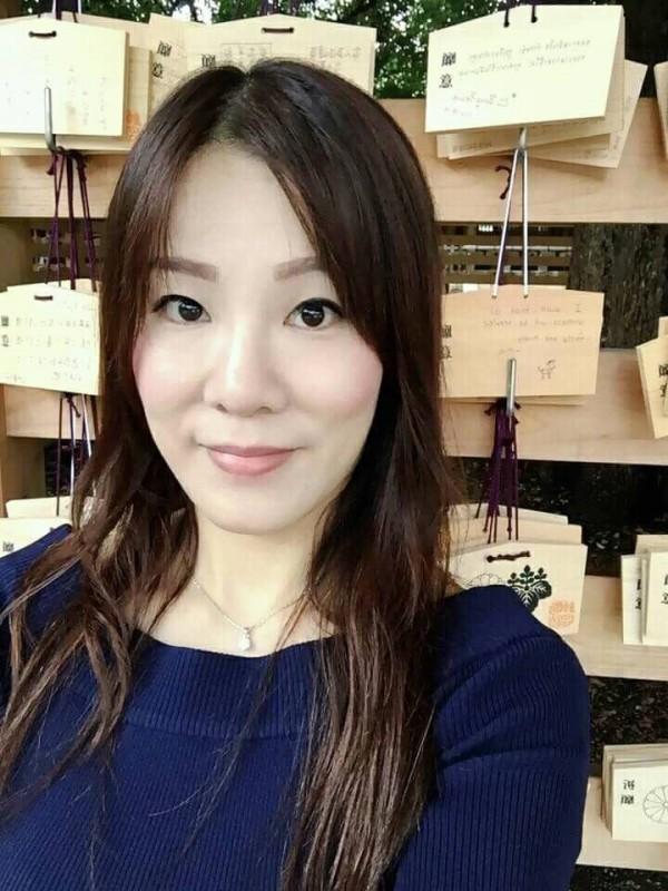 與羅致政爆出婚外情的粘珮瑩,相當受到羅器重,在辦公室作風強勢。(圖擷取自粘珮瑩臉書)