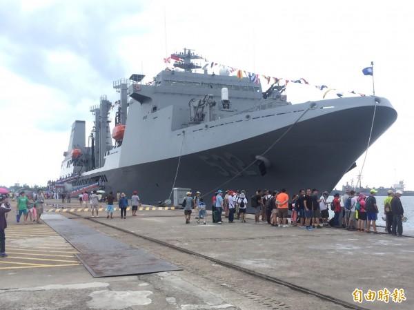 台美軍艦互訪成為台美關係牽動美中台三方關係。軍艦示意圖。(資料照)