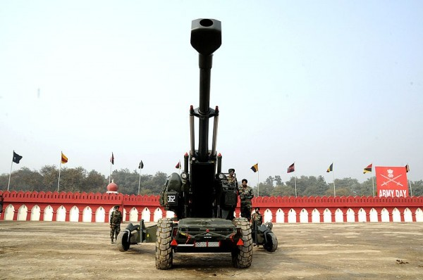 印度國產榴彈砲連連試射失敗,主因竟是用了中國製造的劣質零件。(擷取自《Army Technology》)