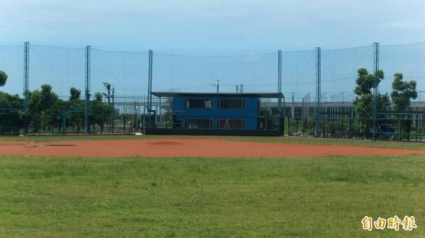 賓賜棒球場。(記者黃明堂攝)