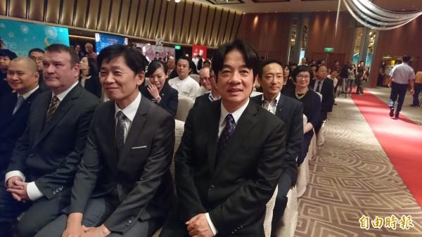 台南市長賴清德表示自己無意2020總統大選。(記者劉婉君攝)
