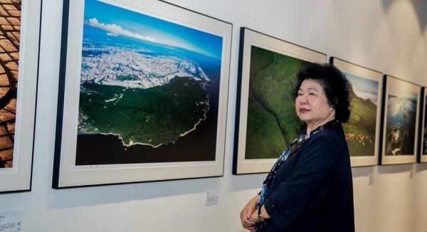 齊柏林熱愛台灣的精神讓花媽感佩。(翻攝臉書)