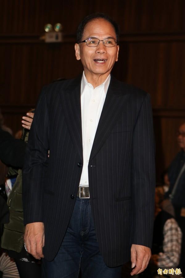 前行政院長游錫堃表示,因國民黨已成在野,自己不選也不會可惜。(資料照,記者陳逸寬攝)