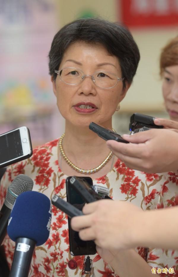 陸委會表示,中國部分人士藉由倡議將台灣矮化、屈辱化的對立思維與挑釁作法,試圖激化雙方衝突,我方絕不會接受。圖為陸委會主委張小月。(資料照,記者張嘉明攝)