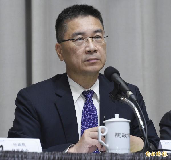 行政院發言人徐國勇針對柯文哲開冷氣回應,表示行政院公文是有彈性的,「柯市長可能誤會公文的意思」。(資料照,記者陳志曲攝)