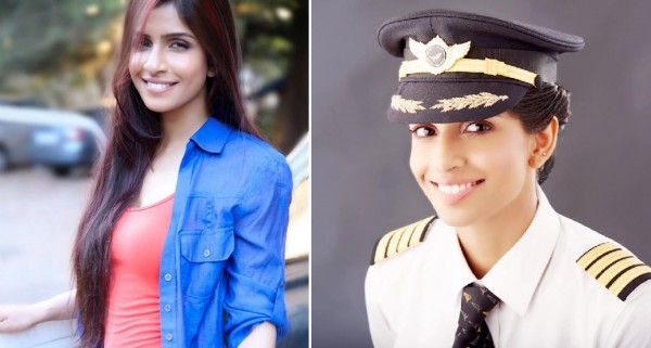 迪芙亞成為全球最年輕的波音777客機女機長。(擷取自臉書)