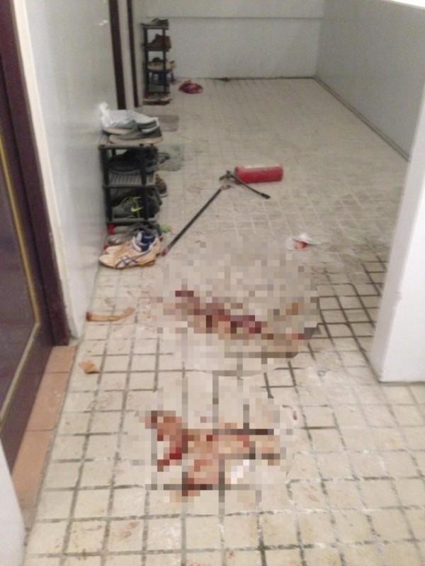 台中市昨晚(2日)發生持刀強盜案,男大生持滅火器與歹徒扭打,被砍成重傷,所幸送醫急救後脫離危險。(資料照,記者何宗翰翻攝)